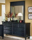 Homelegance Dresser and Mirror Pottery EL-875-5-6