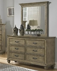 Homelegance Dresser and Mirror Sylvania EL2298-56