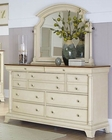 Homelegance Dresser and Swivel Mirror Inglewood EL-1402W-6SW