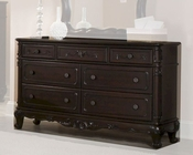 Homelegance Dresser Cinderella in Dark Cherry EL-1386NC-5