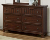 Homelegance Dresser in Cherry Alyssa EL-2136C-5