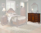 Homelegance Dresser in Warm Cherry Madaleine EL1385-5