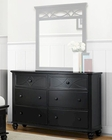 Homelegance Dresser Sanibel in Black EL2119BK-5