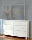 Homelegance Dresser Sanibel in White EL2119W-5