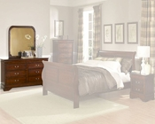 Homelegance Dresser with Mirror Chateau Brown EL549-5SET