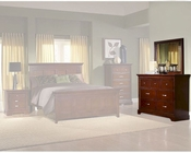 Homelegance Dresser with Mirror in Espresso Glamour EL1349-5SET