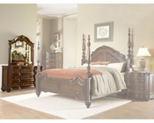 Homelegance Dresser with Mirror in Warm Brown Prenzo EL1390-5SET