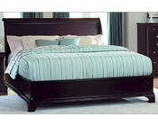 Homelegance Low Profile Bed Inglewood in Deep Cherry EL1402LPBED