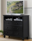 Homelegance Media Chest Sanibel in Black EL2119BK-11