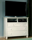 Homelegance Media Chest Sanibel in White EL2119W-11