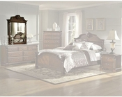 Homelegance Mirror in Brown Cherry Legacy EL866NC-6