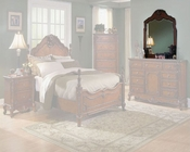 Homelegance Mirror in Warm Cherry Madaleine EL1385-6