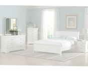 Homelegance Mirror in White Marianne EL539W-6
