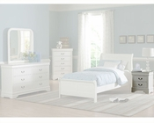 Homelegance Night Stand in White Marianne EL539W-4