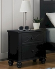 Homelegance Night Stand Sanibel in Black EL2119BK-4