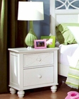 Homelegance Night Stand Sanibel in White EL2119W-4