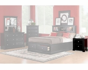 Homelegance Nightstand in Black Preston EL814BK-4