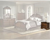 Homelegance Nightstand in Brown Cherry Legacy EL866NC-4