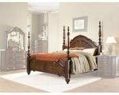 Homelegance Poster Bed in Warm Brown Prenzo EL1390K-1CK