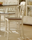 Homelegance Pub Chair Ohana in White Finish EL1393W-24 (Set of 2)