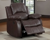 Homelegance Reclining Chair Cranley in Brown Finish EL-9700BRW-1