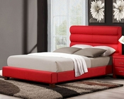 Homelegance Red Platform Bed Aven EL-5795RD-BED