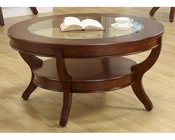 Homelegance Round Cocktail Table Avalon EL-1205-01