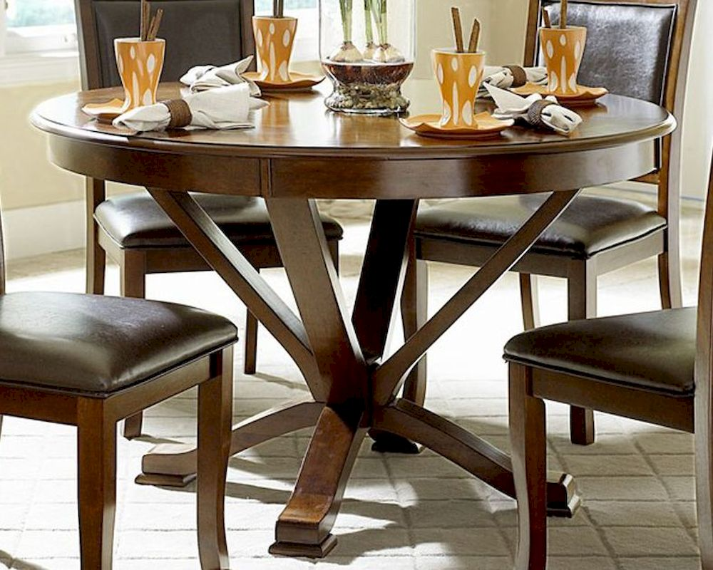 homelegance round dining table helena el 5327 48 rh homefurnituremart com 48 round kitchen table and chairs 48 round kitchen table with leaf
