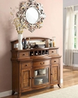 Homelegance Server w/ Top with Mirror Keegan II EL-2546NF-40SM