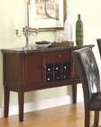 Homelegance Server with Marble Top Decatur EL-2456-40