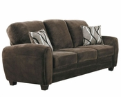 Homelegance Sofa Rubin in Chocolate Finish EL-9734CH-3
