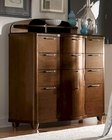 Homelegance Tall Dresser and Hutch Zelda EL2238-1010HT