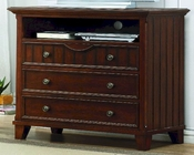 Homelegance TV Chest in Cherry Alyssa EL-2136C-11