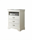 Homelegance TV Chest in White Marianne EL539W-11