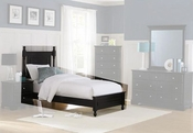 Homelegance Twin Bed in Ebony EL-1356TBK-1