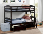 Homelegance Twin Bunk bed Exuberance EL-B45-1