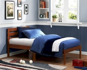 Homelegance Twin Platform Bed in Cherry Bart EL-5794T-1