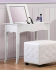 Homelegance Vanity Desk With Lift Top Mirror Sparkle EL-2004-15
