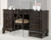 Homelegance Writing Desk Cinderella in Dark Cherry EL-1386NC-11