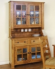 Honey Oak Buffet/Hutch SU-2412RO