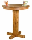 Honey Oak Finish Pub Table SU-1165RO