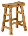 Honey Oak Saddle Seat Dining Chair SU-1720RO (Set of 2)