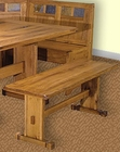 Honey Oak Side Bench SU-0219RO-SB