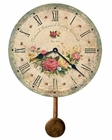 Howard Miller Wall Clock Savannah Botanical Society VI HM-620401
