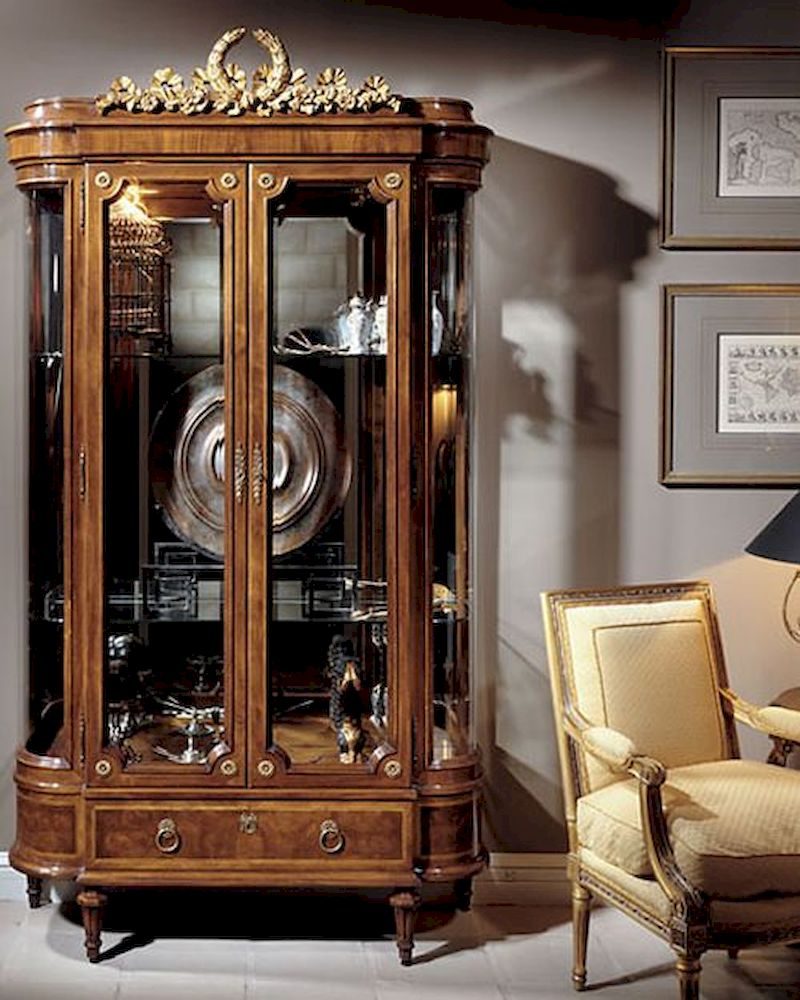 Infinity Furniture Classic Display Cabinet Louis Xvi