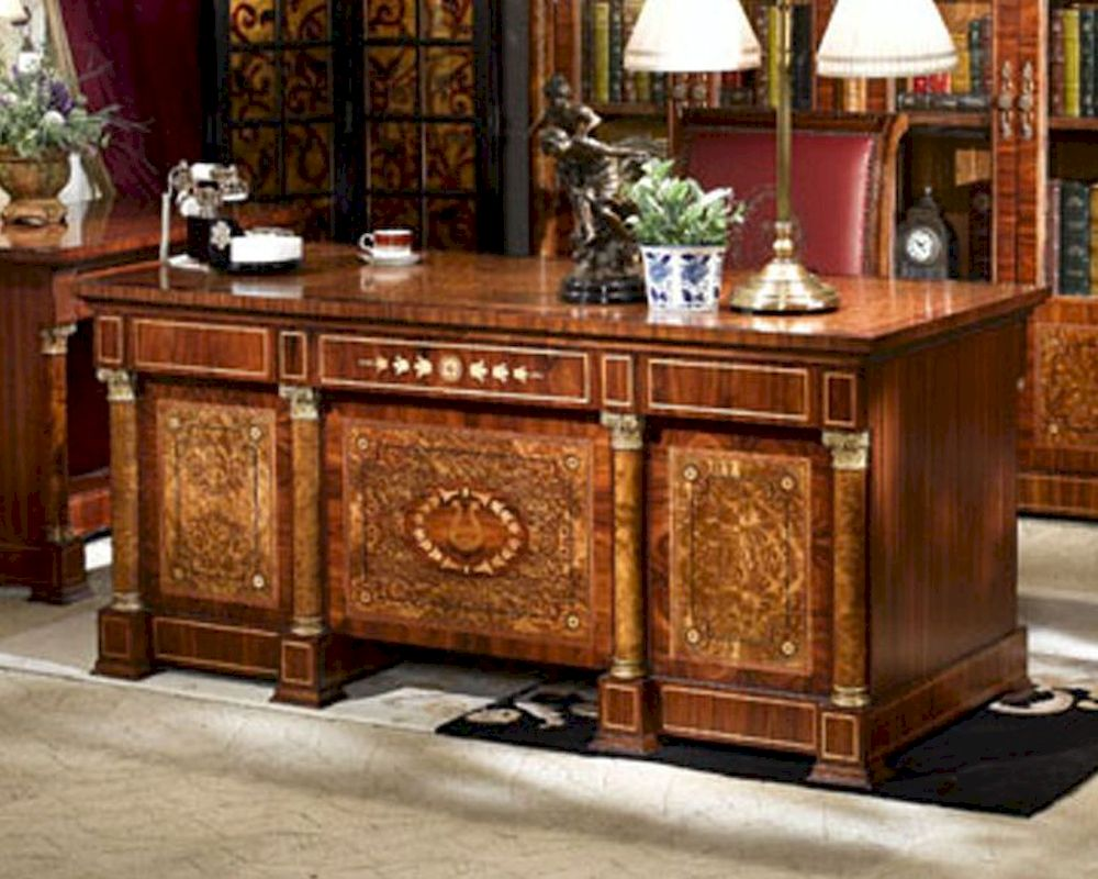 Infinity Furniture Classical Executive Desk Orpheus Inop 570