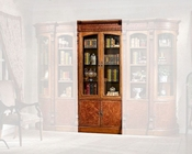 Infinity Furniture Combined 2-Door Bookcase Louis XVI INLV-552-2