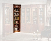 Infinity Furniture Corner Bookcase Louis XVI INLV-550