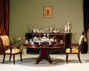 Infinity Furniture Dining Set w/ Round Table Gigasso INGI-81205SET
