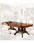 Infinity Furniture Dining Table w/ Two Pedestals Louis XVI INLV710